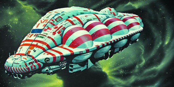 Grande exposition Chris Foss copyright ScienceFictionArchivescom