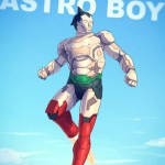 Astro boy version Iron Man, projet Badass Fanarts