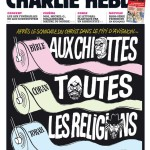 One of Charlie Hebdo's Une against all religions.