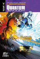 Quantum and Woody 2 de James Asmus et Ming Doyle (Bliss Comics) décrypté par Comixtrip le site BD de référence