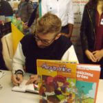 Thomas Priou en dédicace lors de BD Boum de Blois 2016 - Photo Comixtrip