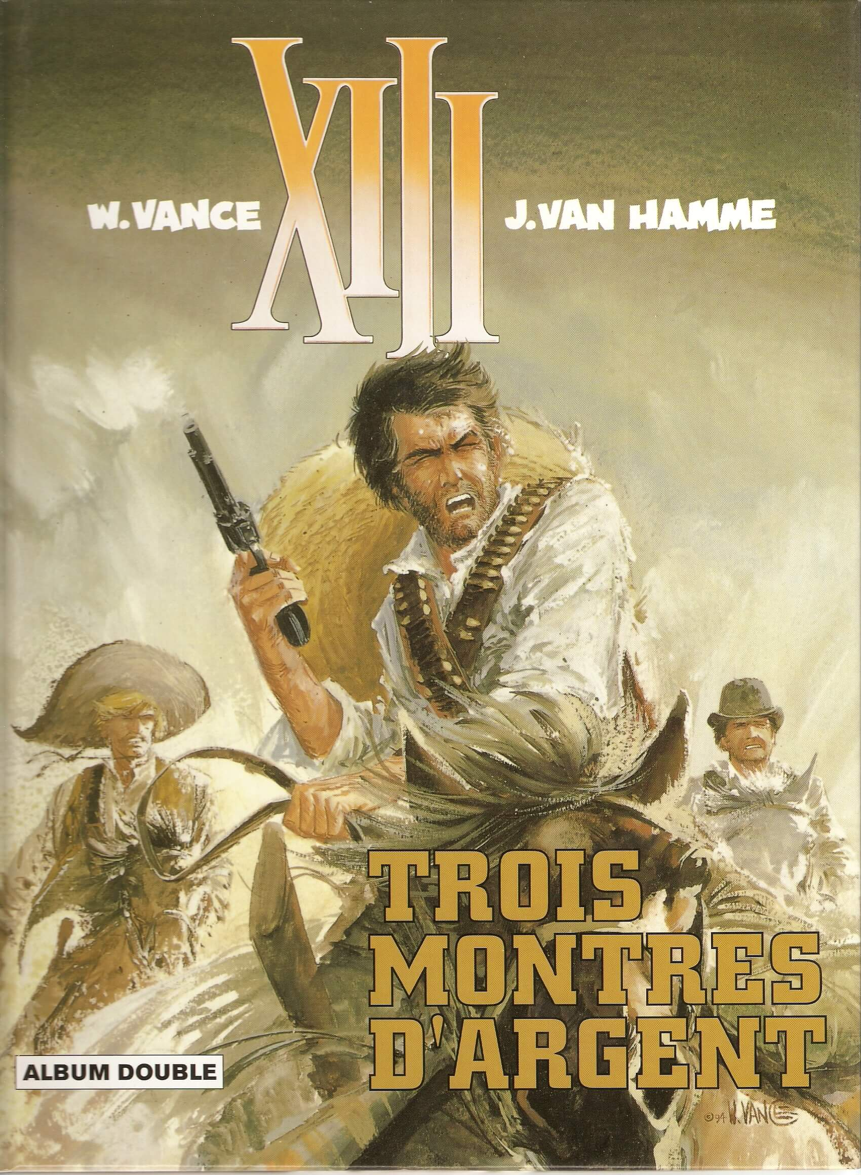 XIII de Jean Van Hamme et William Vance (Dargaud)