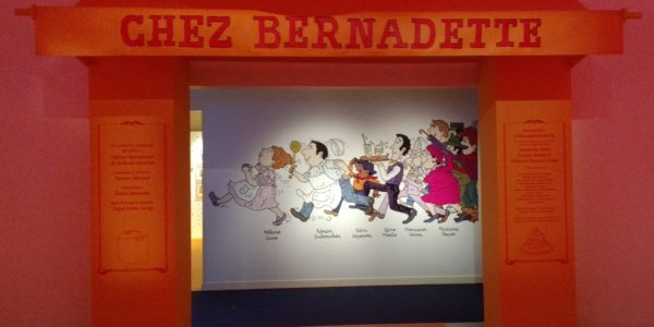 Exposition Bernadette Després à Angoulême 2019 (Photo Comixtrip