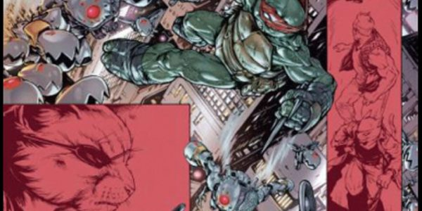 Teenage Mutant Ninja Turtles 8 de Tom Walz, Kevin Eastman et Mateus Santolouco (HiComics)