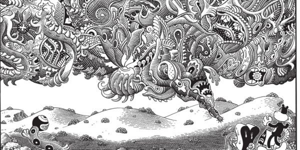 Poochytown de Jim Woodring (L'Association)